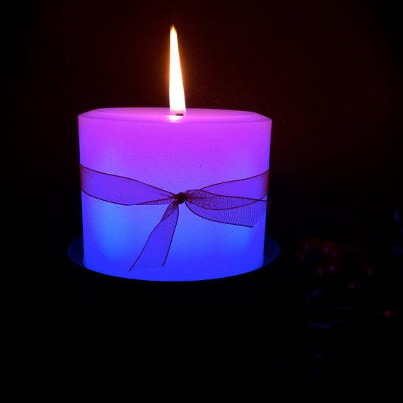 Round Candle Pillar by LamoreCandles