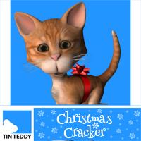 Tin Teddy Christmas Cracker
