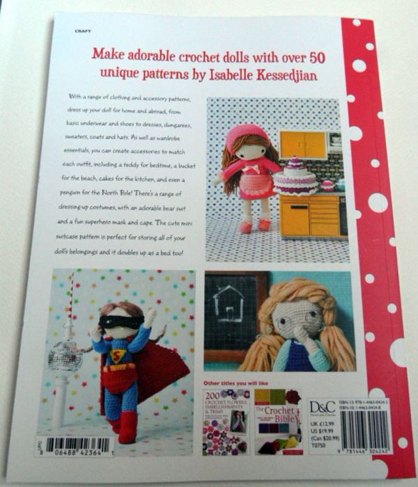 My Crochet Doll Review - Back