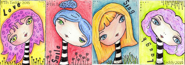 Introduction to Artist Trading Cards – What are ATCs?