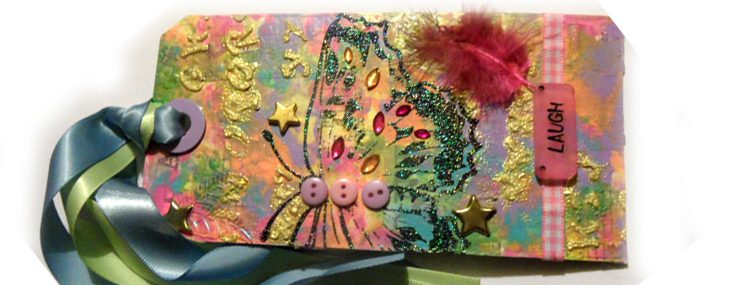 Tim Holtz 12 tags of 2015 – March tag