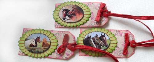 Horse gift tags – easy to make craft project tutorial
