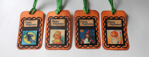 Halloween Tags Video Tutorial – Quick and Simple