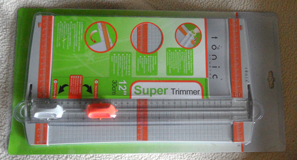 12″ Tonic Super Trimmer Review – Tonic Paper Cutter Board