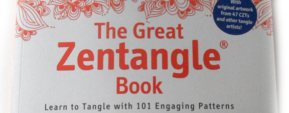 The Great Zentangle Book by Beate Winkler – Craft Book Review