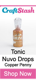 Tonic Nuvo Drops Copper Penny at CraftStash.co.uk