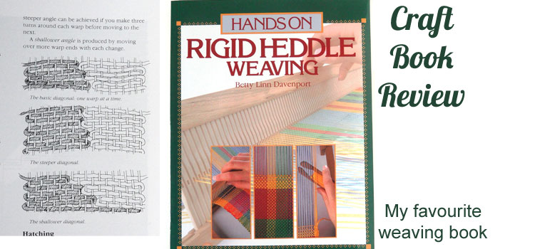 Hands On Rigid Heddle Weaving by Betty Linn Davenport – a craft book review